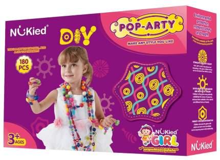 Набор для создания украшений BToys Pop Arty детский бисер в коробке 180 деталей HS6621