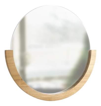 Зеркало настенное Umbra Mira 60,7х61 см, натуральное дерево