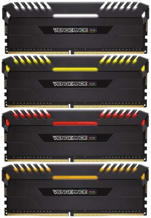 Оперативная память Corsair VENGEANCE RGB CMR32GX4M4C3466C16