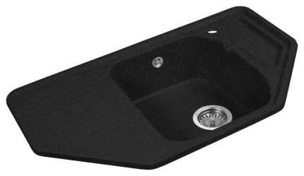 Мойка для кухни гранитная AquaGranitEx m-10 черный