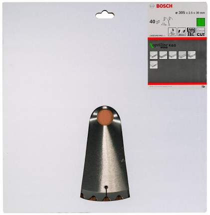 Диск по дереву Bosch STD WO 305x30-40T 2608640440