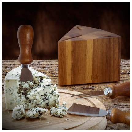 Набор кухонных принадлежностей Balvi 26445 Серебристый, коричневый