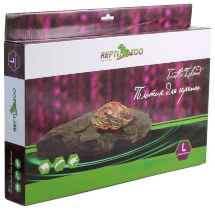 Плотик для черепах Repti-Zoo R0375, пластик, 15х13х3 см