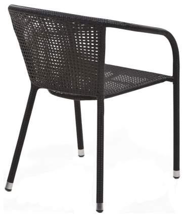 Кресло Afina Y137B Dark brown из искусственного ротанга