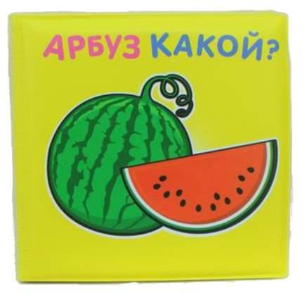 Книжка для ванны Shantou Gepai Акварики «Арбуз какой?» m6226, 12х12 см