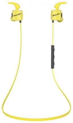 Беспроводные наушники Bluedio TE BT Yellow