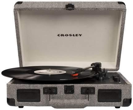 Виниловый проигрыватель CROSLEY CRUISER DELUXE [CR8005D-HB] c Bluetooth, Асфальт