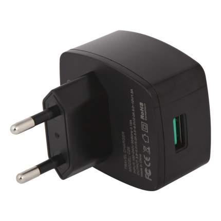 Сетевое зарядное устройство Hoco C26 Mighty Power QC 3.0 1 USB 3A Black