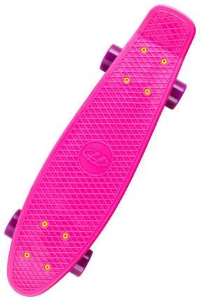 Пенни борд Tech Team Melbourne 56,5 x 15,2 см розовый