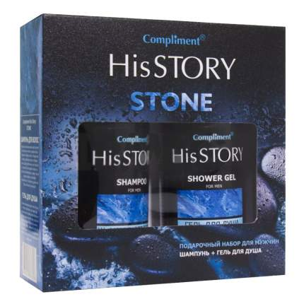 Подарочный набор для мужчин Compliment № 1431 His story Stone