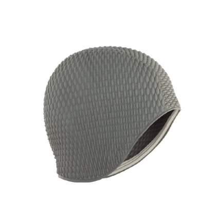 Шапочка для плавания Larsen Бабл-кап 3117 grey/silver