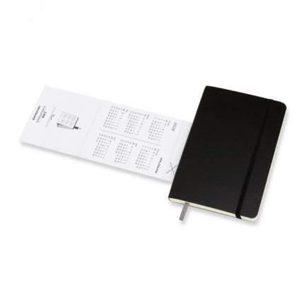 """Еженедельник датированный на 2020 год """"Classic Soft"""" WKNT Pocket, 144 страницы, черный"""