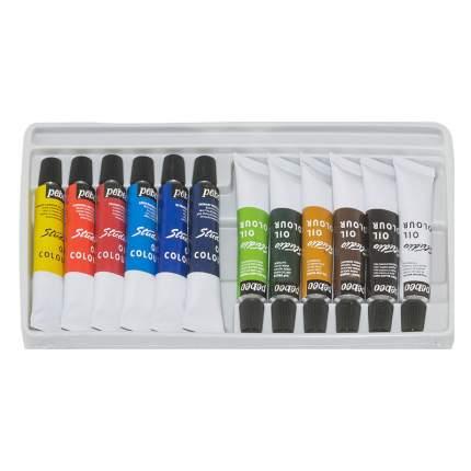 Масляные краски Pebeo XL 668100 12 цветов