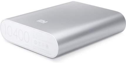 Внешний аккумулятор MI POWER BANK 10400 MAH Silver