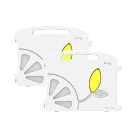 Большой манеж iFam Lemon W1 с калиткой 218х132х71