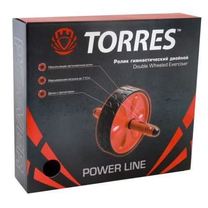 Ролик гимнастический Torres двойной PL5013