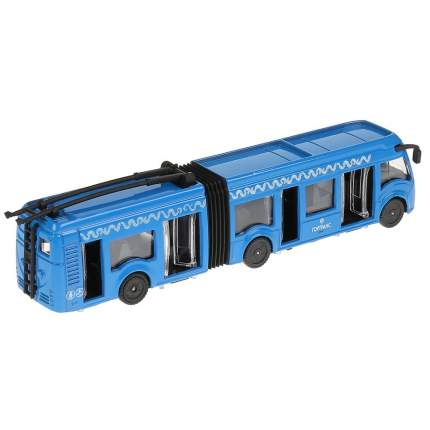 Троллейбус Технопарк с гармошкой 19см