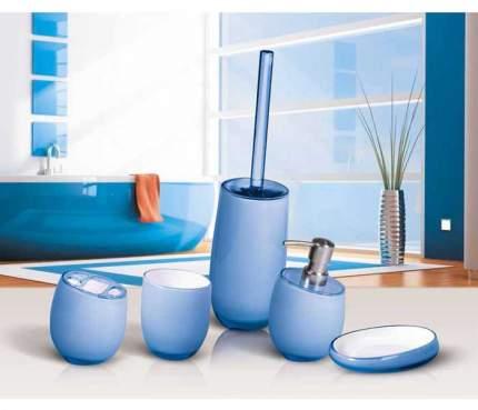 Подставка для зубн.щеток Tatkraft Repose Blue голубой (12257)