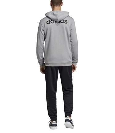 Спортивный костюм Adidas Linear French Terry, medium grey heather/black, S INT