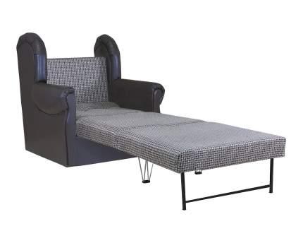 Кресло кровать Классика М рогожка коричневый
