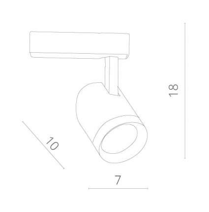 Трек-система ARTE LAMP TRACK LIGHTS Soffitto A1710PL-1BK
