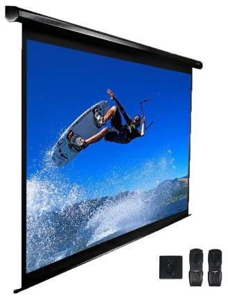 Экран для видеопроектора Elite Screens ELECTRIC84H Черный, белый