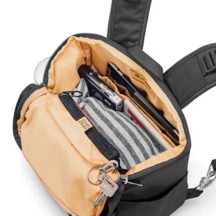 Рюкзак женский Pacsafe Citysafe CS300 14,9 л черный