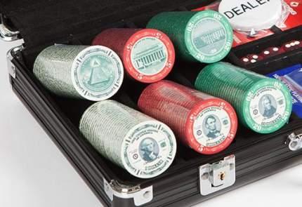 Набор для покера Partida US Dollar на 300 фишек