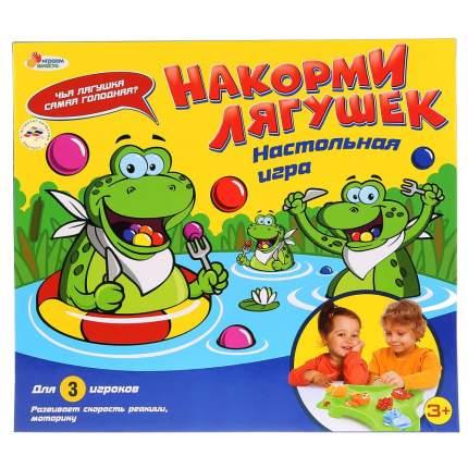 Семейная настольная игра Играем вместе Накорми лягушек B1612605-R