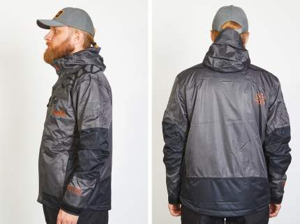 Куртка для рыбалки Norfin River Thermo, gray, XXL INT, 184-190 см