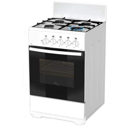 Газовая плита (50-55 см) Flama AG14014 White
