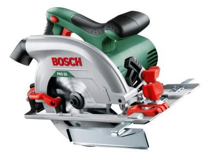 Сетевая циркулярная пила Bosch PKS 55 603500020