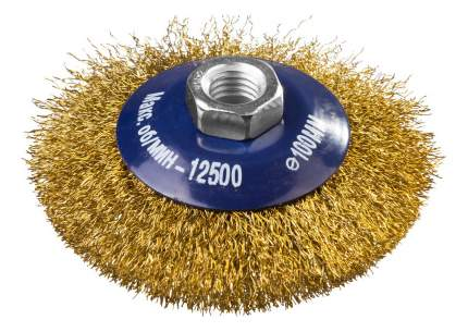 Коническая кордщетка для угловых шлифмашин DEXX 35105-100