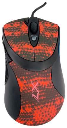 Проводная мышка A4Tech V-Track F7 Red/Black