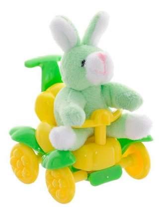 Мягкая игрушка Beanzees B32061 плюшевая Зайчик в каталке