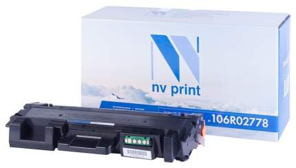 Картридж для лазерного принтера NV Print 106R02778, черный