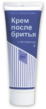 Крем после бритья SVOBODA с витамином F 80 мл