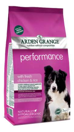 Сухой корм для собак Arden Grange Performance, курица,  2кг