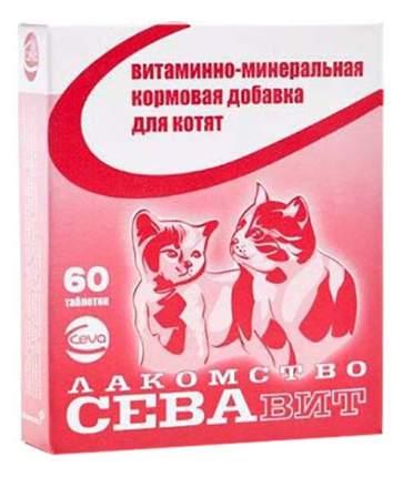 Лакомство для котят Ceva СЕВАвит с таурином, 60таб.