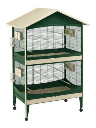 Клетка для птиц FERPLAST DUETTO коричневый 119 5x75x169 5см