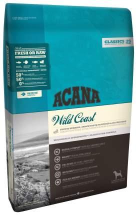 Сухой корм для собак ACANA Classics Wild Coast, рыба, овес, 11,4кг