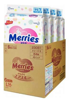 Подгузники Merries L (9-14 кг), 216 шт.
