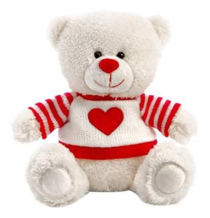 Мягкая игрушка LAVA Медвежонок Сэмми в свитере с сердечком музыкальный 18 см