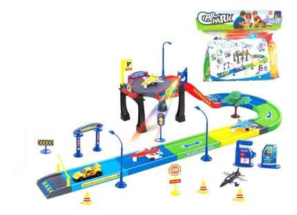 Парковка игрушечная Junfa Toys P81, 45 предметов