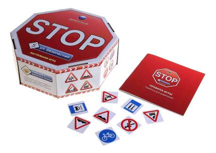 Семейная настольная игра Биплант Улица Безопасная 10029