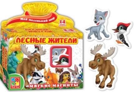 Мягкие магниты Vladi Toys Лесные жители (VT3101-04)
