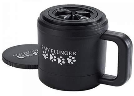 Лапомойка для собак Paw Plunger PAW110 Малая, пластик, силикон, черный