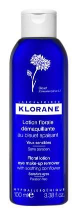 Средство для снятия макияжа Klorane Лосьон для снятия макияжа с глаз 100 мл