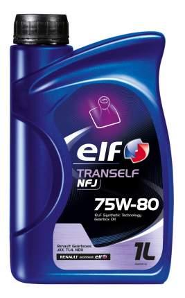 Трансмиссионное масло ELF TRANSELF NFJ 75W80 1л (194757)
