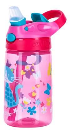 Детская бутылка для воды CONTIGO Gizmo Flip розовый 420 мл